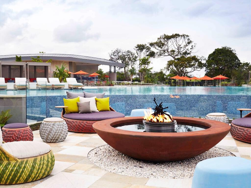 Elements of Byron Resort Poolside