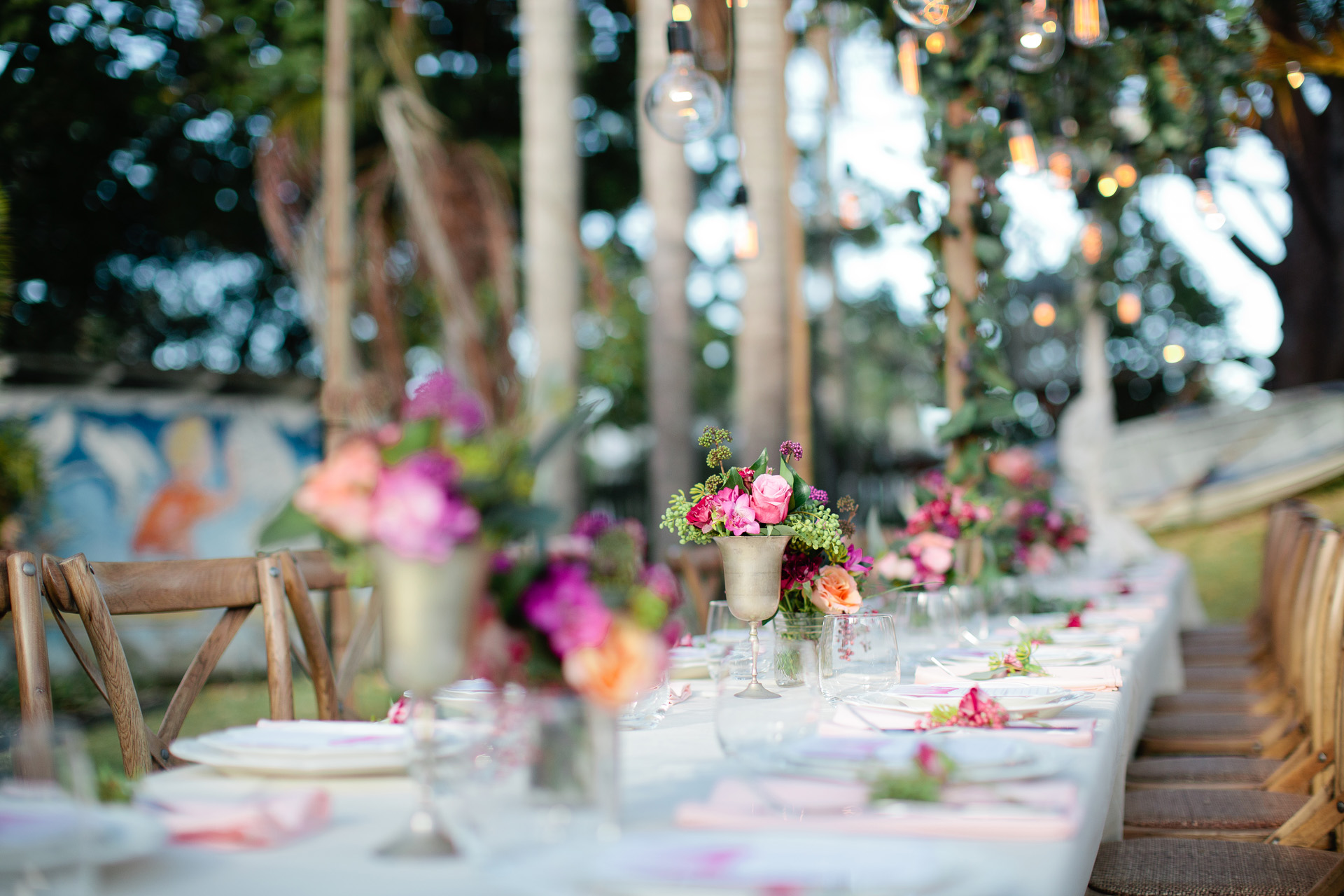 Secret Garden Byron Bay - Table Setting