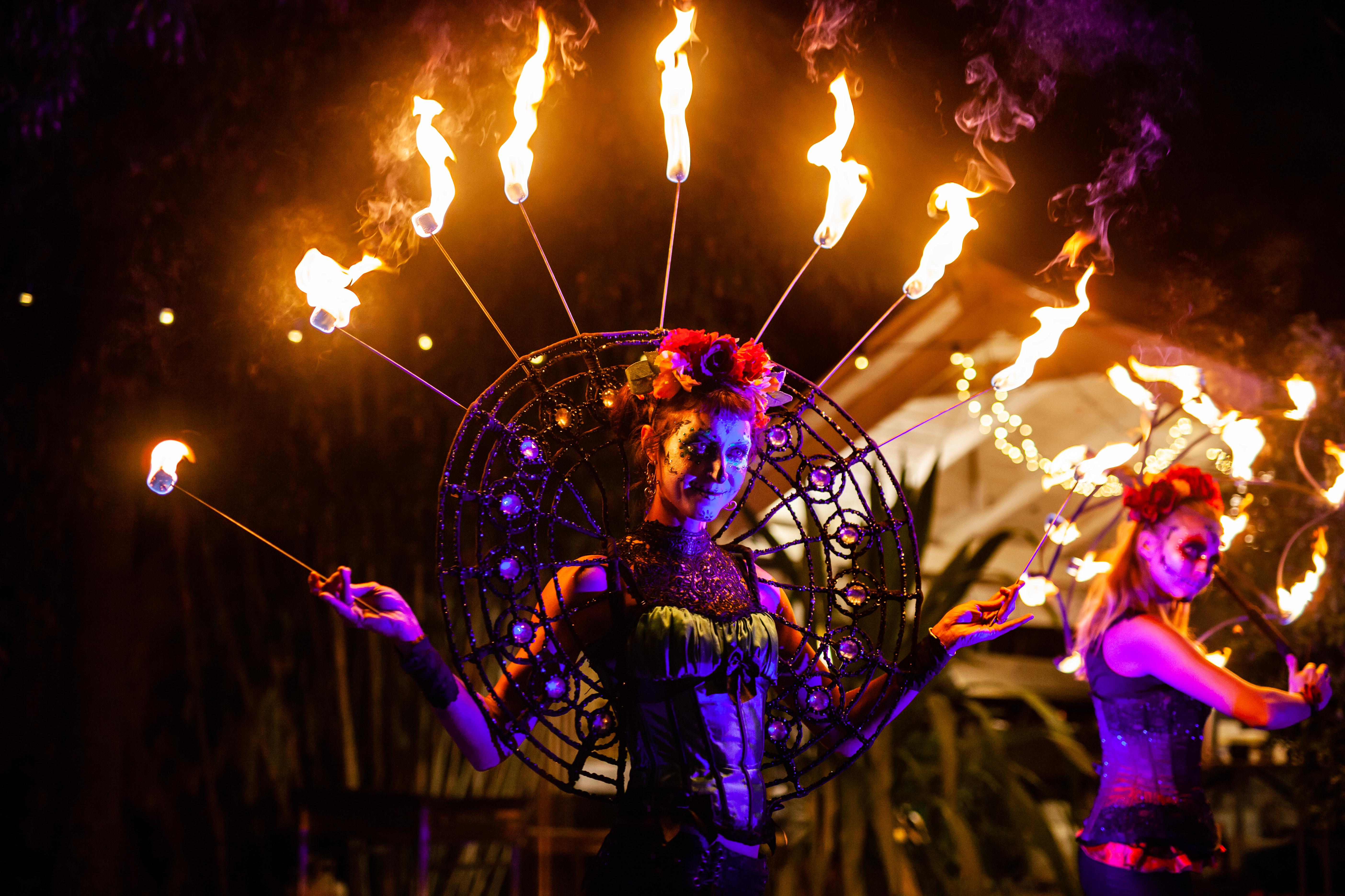 Body Art & Fire Shows