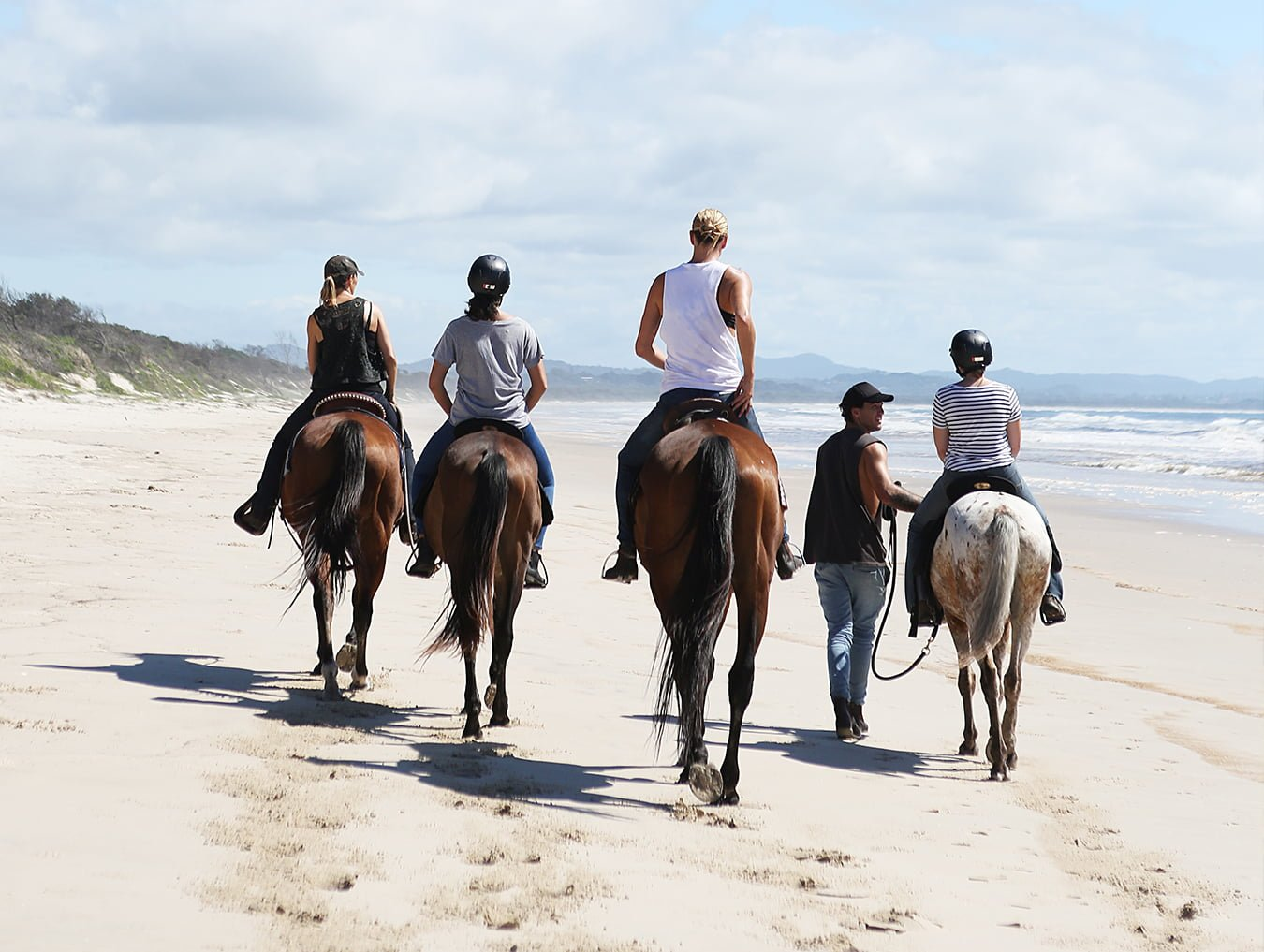 Forest to Beach on Horseback